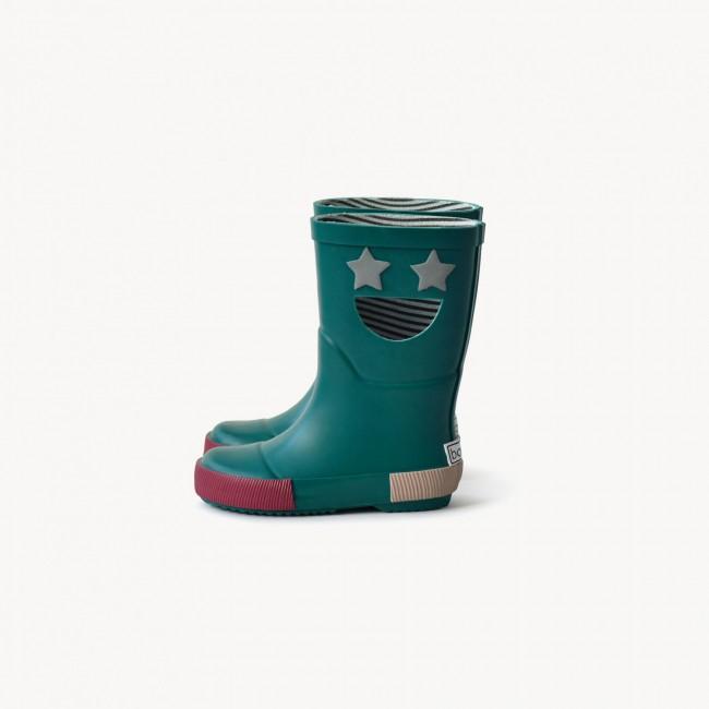 Boxbo - Wistiti Star Green gumene čizme
