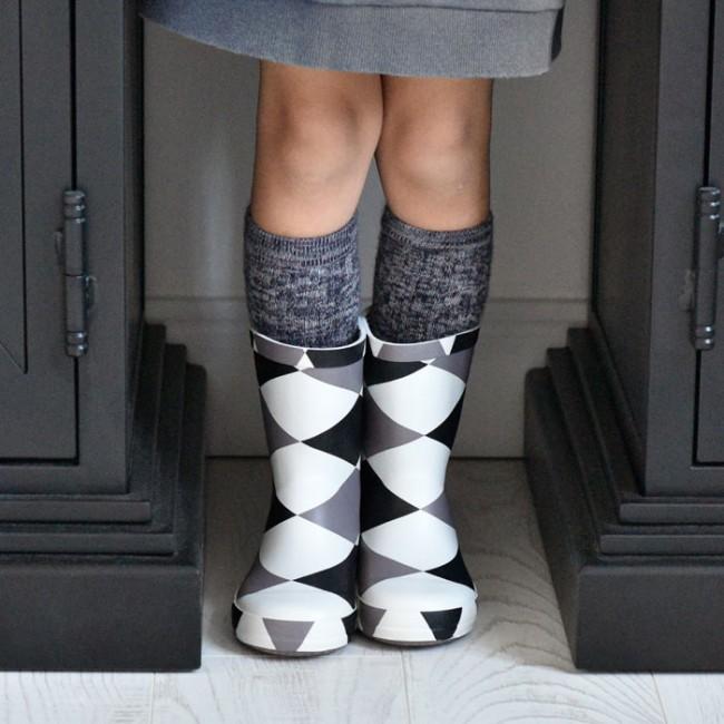 Boxbo - Damier gumene čizme