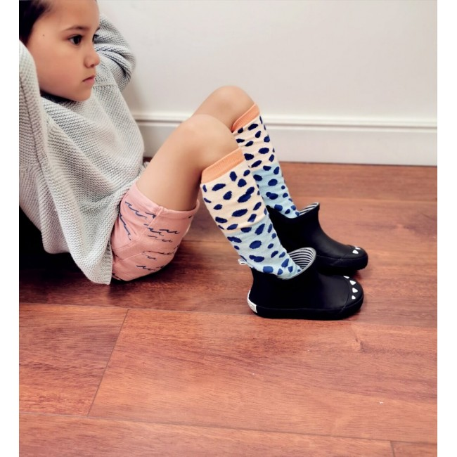Boxbo - Kerran Bottine Black gumene čizme