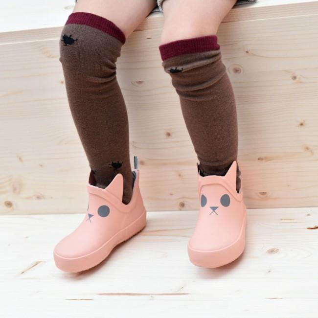 Boxbo - Kerran Bottine Salmon Pink gumene čizme