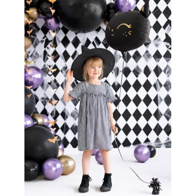 Party Deco - Balon crna maca