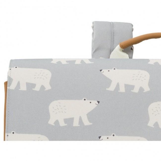Fresk - Ranac za školu polarni meda retro