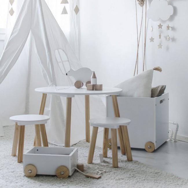 Jabadabado - Drveni sto sa dve stolice