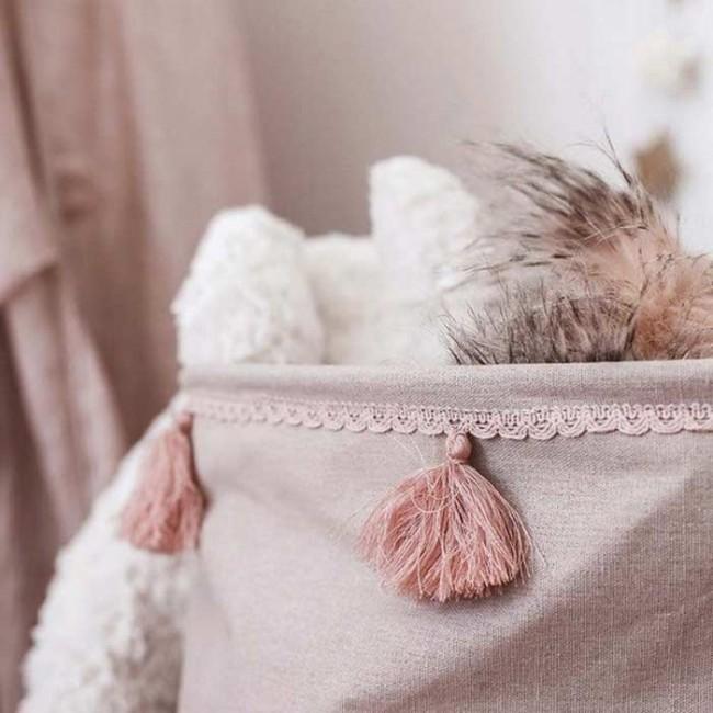 Jabadabado - Korpa za igračke roze