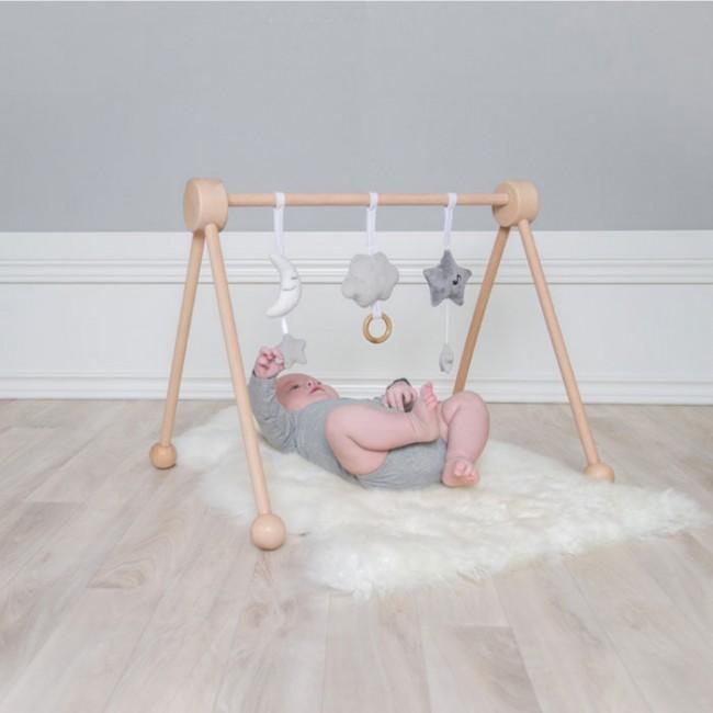 Jabadabado - Igračke za baby gym sive