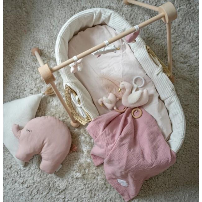 Jabadabado - Ćebence za bebe roze