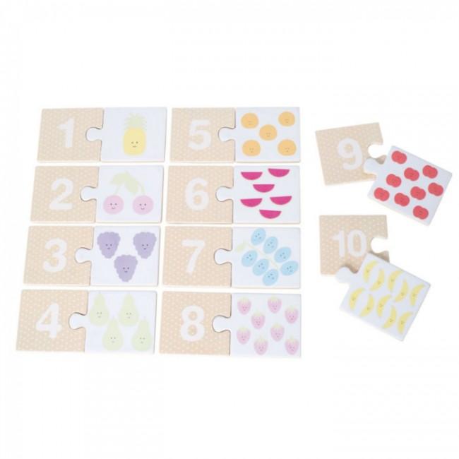 Jabadabado - 1-10 puzzle