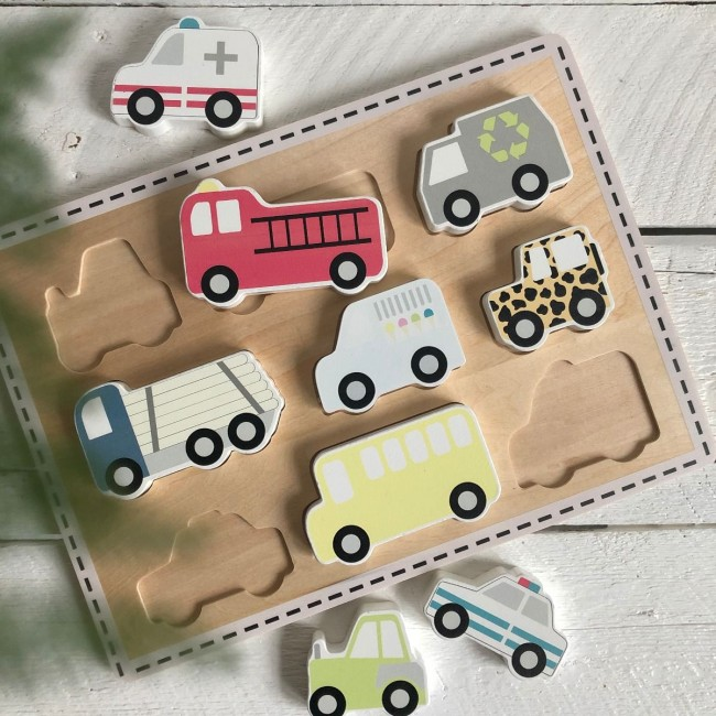 Jabadabado - Puzzle autići
