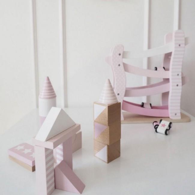 Jabadabado - Car roller roze