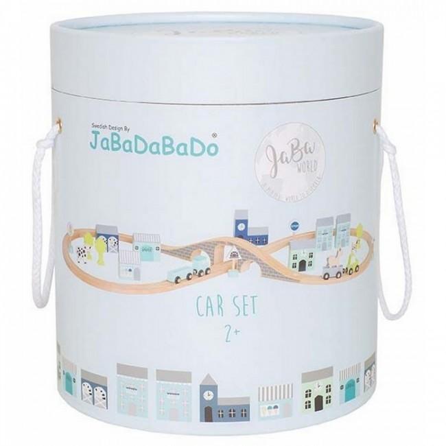 Jabadabado - Car set plavi