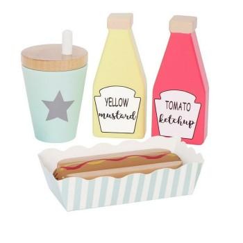 Jabadabado - Hot dog set