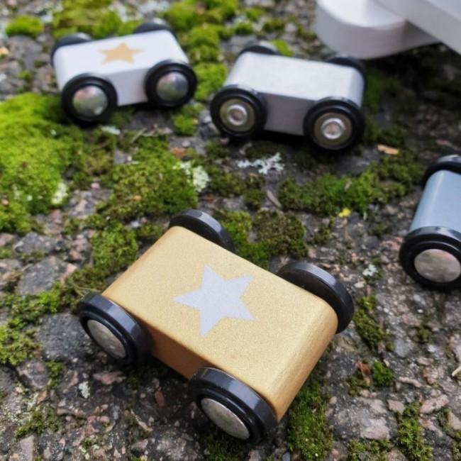 Jabadabado - Car roller silver