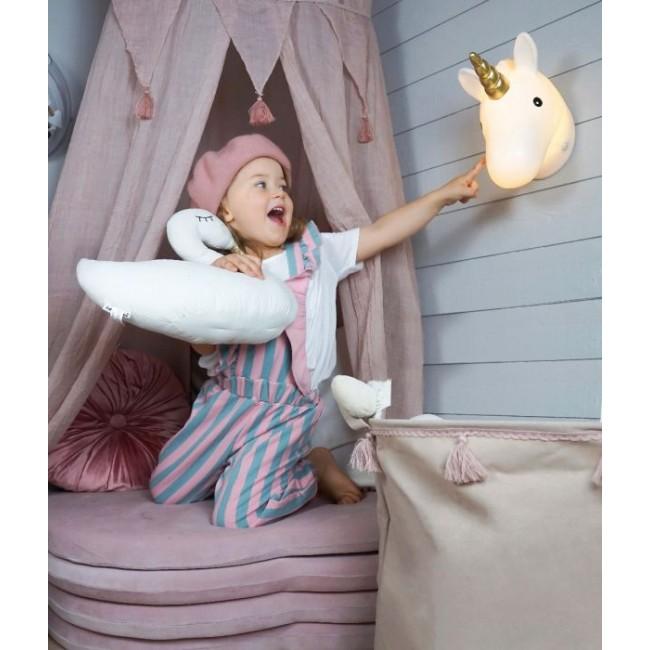 Jabadabado - Zidna lampa jednorog
