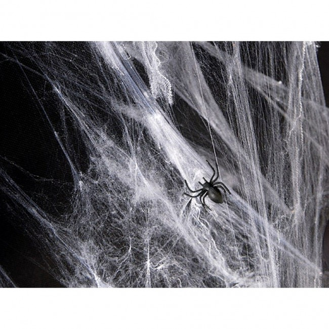 Party Deco - Paukova mreža bela