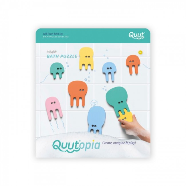 Quut - Bath puzzle Jellyfish