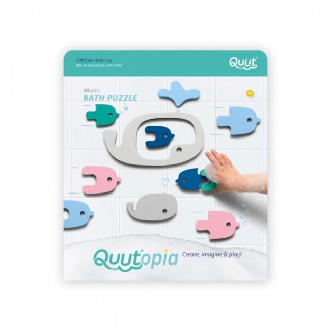 Quut - Bath puzzle Whales