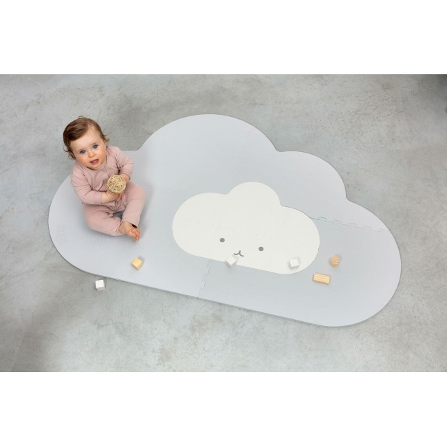 Quut - Playmat Head in the clouds - Pearl grey