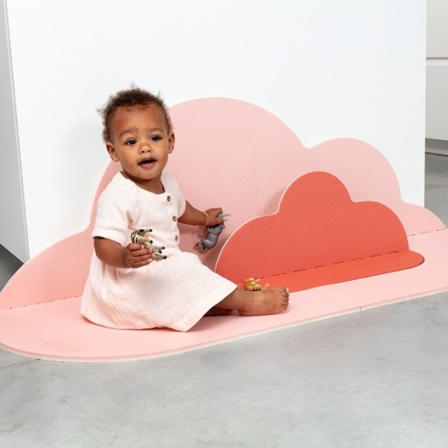 Quut - Playmat Head in the clouds - Blush Rose, Small