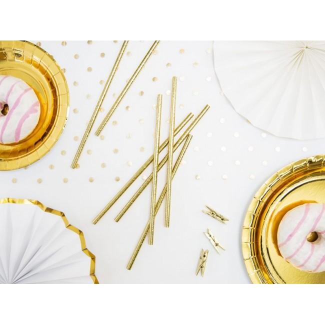 Party Deco - Slamčice zlatne