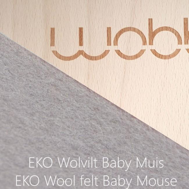 Wobbel - Original with felt Baby mouse