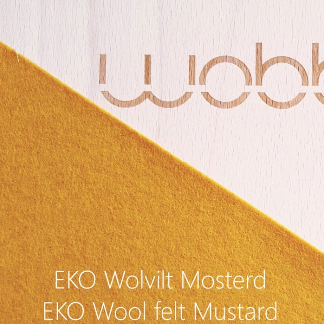 Wobbel - Original with felt Mustard