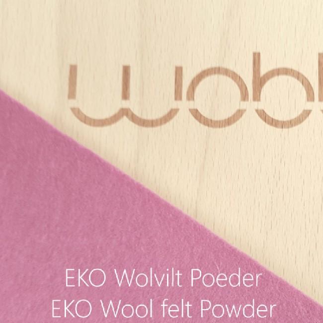 Wobbel - Original with felt Powdery pink